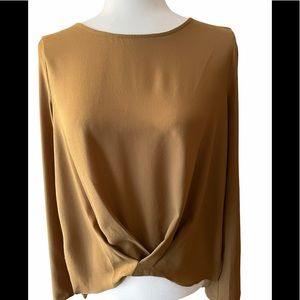 Camel coloured blouse